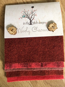 Wooly Charms Reds