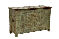 (A) Varna Carved Storage Console