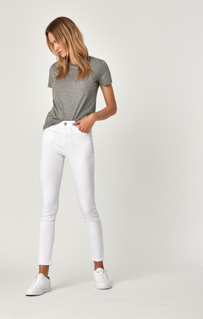 white ankle jean