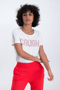 crush logo short sleeve t