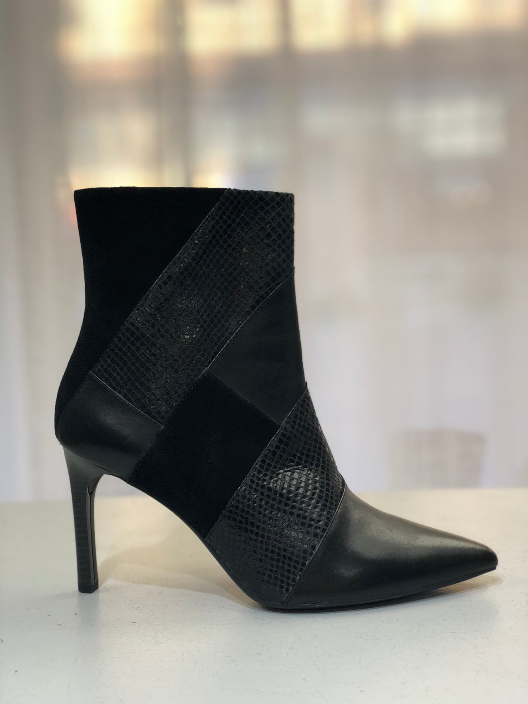 high heel dress boot Faviola