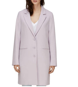 knee length notch collar straight fit - Bartha