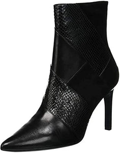 Geox suede and leather high heel dress boot - Faviola