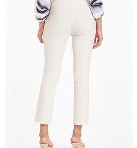 White wonderstretch ankle pant