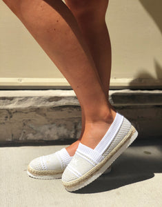 Michael Kors stretch top 2 tone slip on sneaker