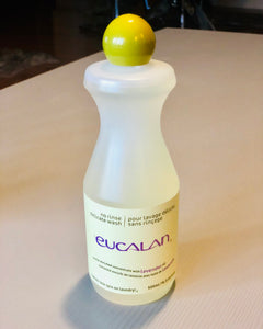 Eucalan no rinse delicate wash laundry soap lavender oil infused