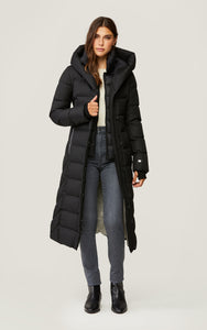 semi fit calf lgth down coat -Talyse-N