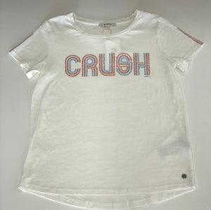 Garcia sparkle letters Crush graphic tee