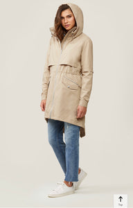 long anorak detachable liner