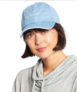 Denim hat graphic- best day ever
