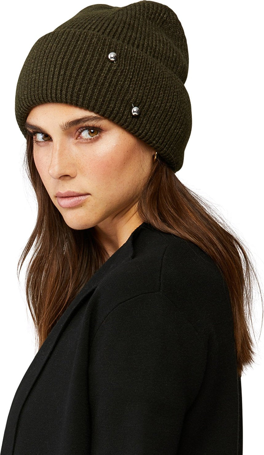 Soia & Kyo toque with silver embellishment