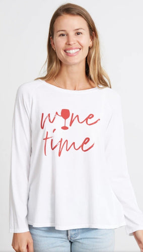wine time sweater-Maxie