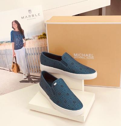 slip on loafer (avail in sand and chambray)