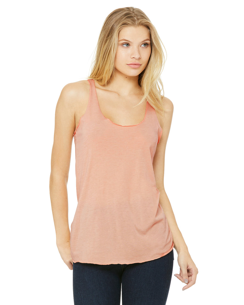 Bella Ladies' Triblend Racerback Tank