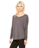 Bella Ladies' Flowy Long-Sleeve T-Shirt