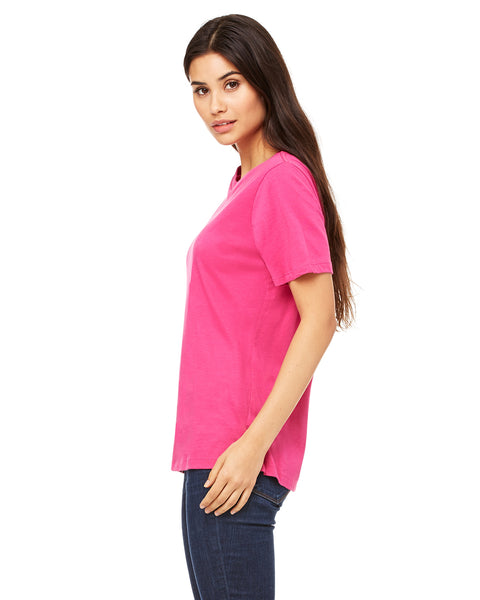 Bella Ladies' Relaxed Jersey Crew