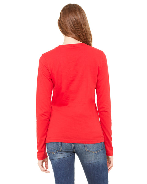 Bella Ladies' Jersey Long-Sleeve T-Shirt
