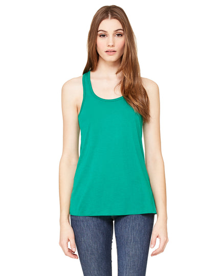 Bella Ladies' Flowy Racerback Tank