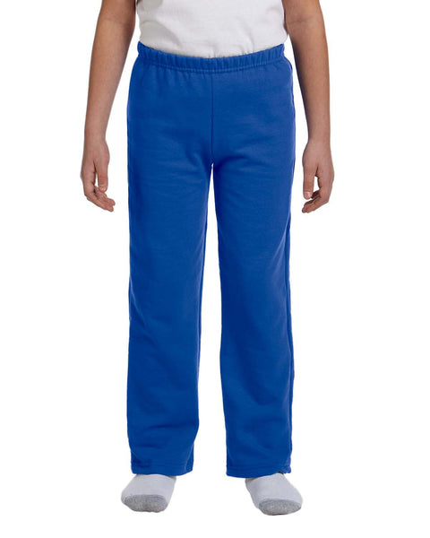Gildan Youth 50/50 Sweatpants Open-Bottom