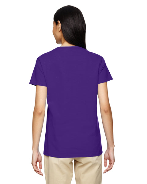 Gildan Ladies Relaxed V Neck