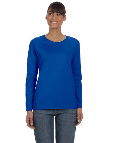 Gildan Ladies Relaxed Long-Sleeve T-Shirt