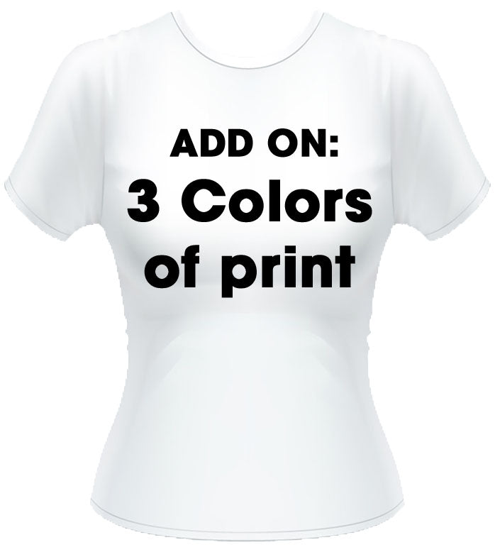 3 colors of print