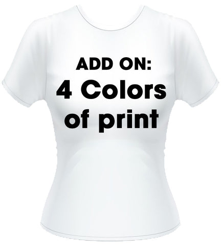 4 colors of print