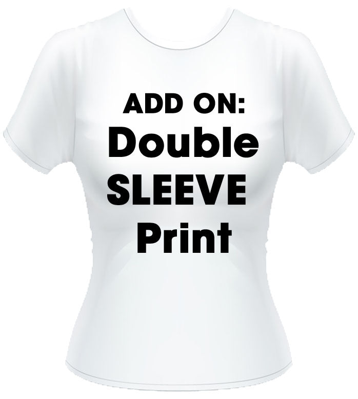 Double sleeve print