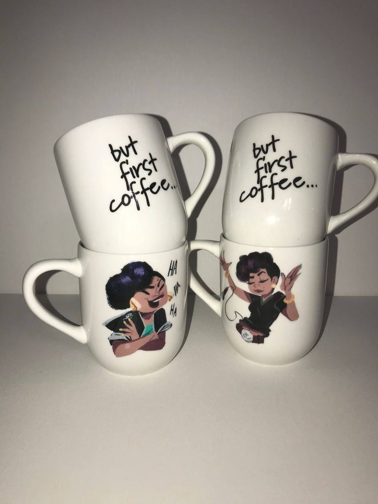 4pc set Cece Mug Set