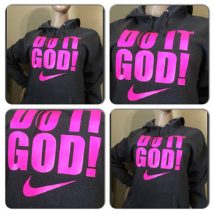 Do It God neon sweatshirt | faith sweatshirt | God hoody