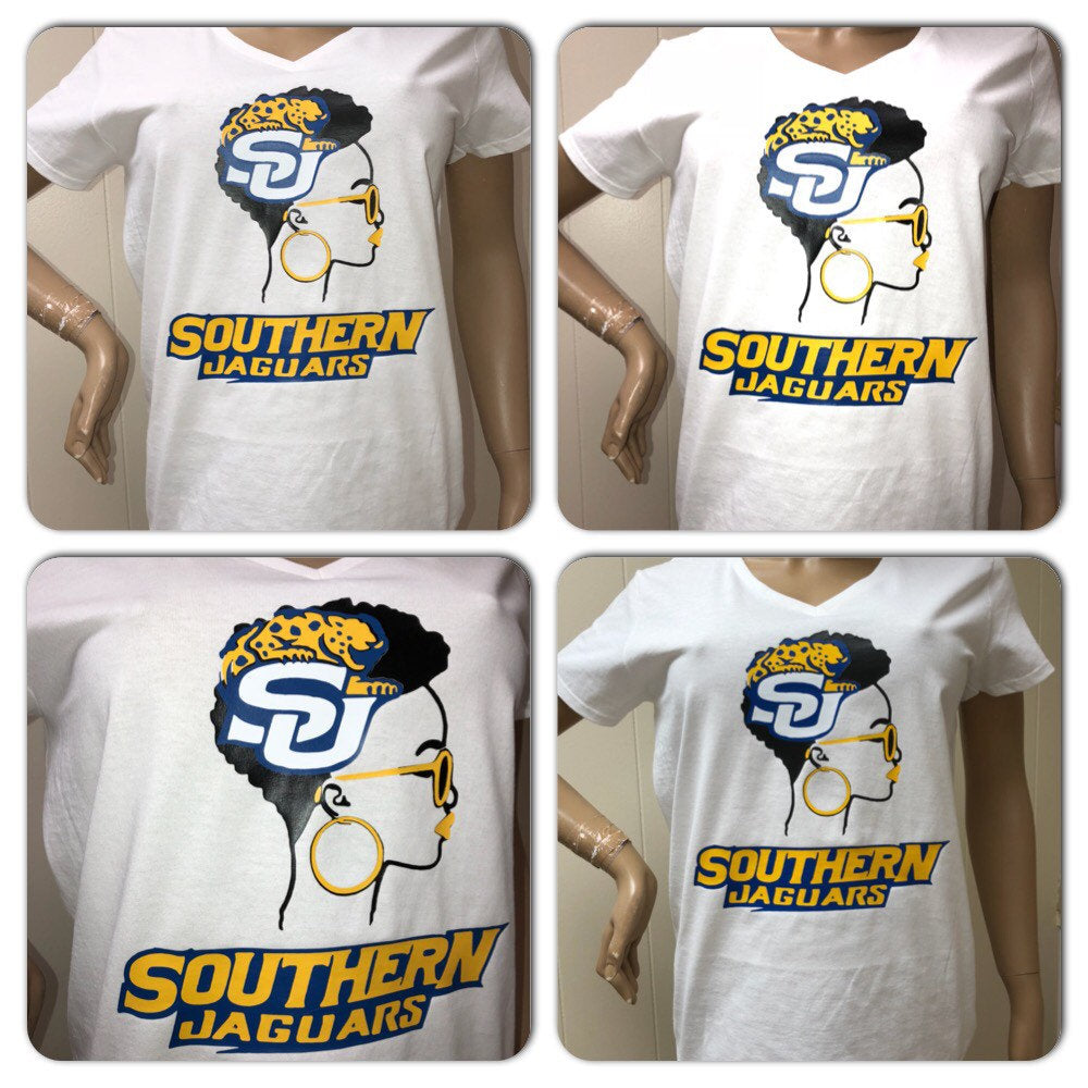 Southern Lady tshirt | Southern Jaguars  |