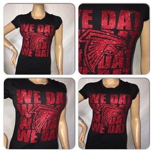 Falcons We Dat Fitted tee