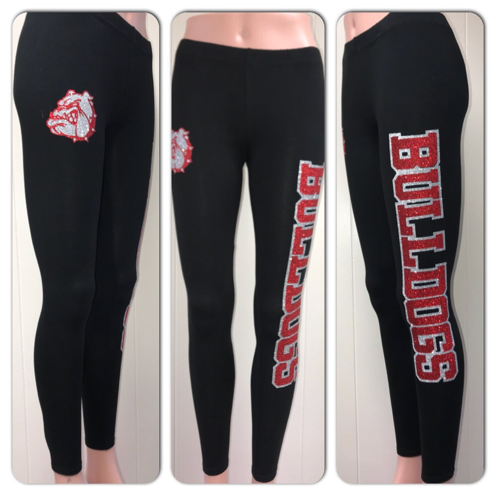 Bulldogs Glam Leggings