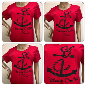 Disney Cruise Anchor Unisex crew neck