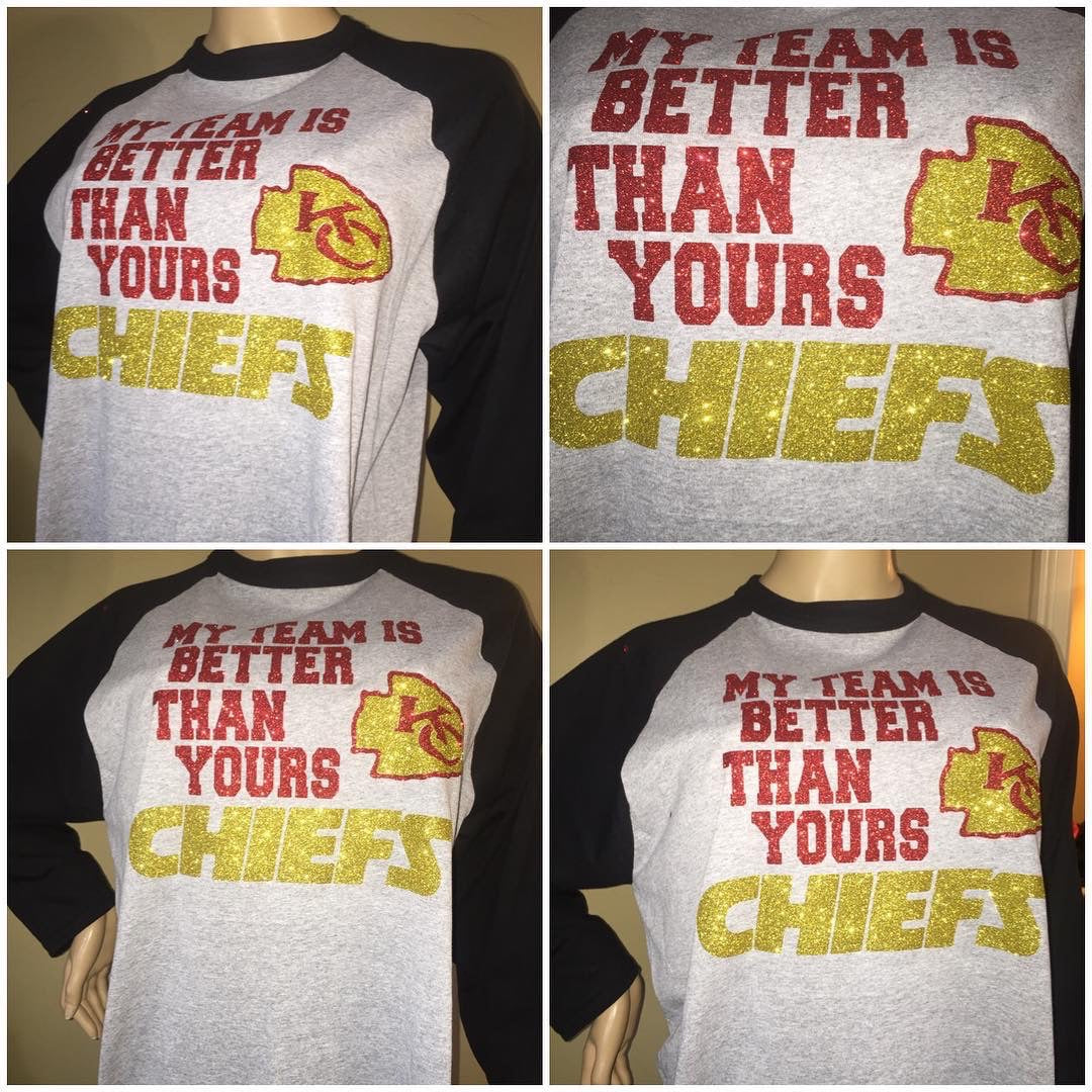 Chiefs My Team Raglan