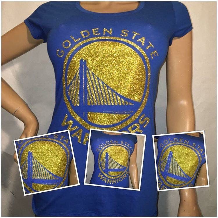 Golden State Warriors Glam Tshirt