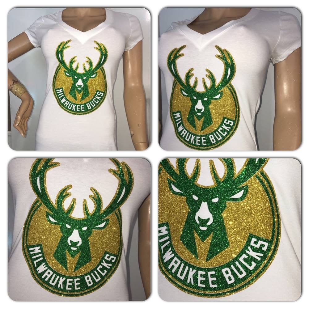 Milwaukee Bucks Glam Tshirt
