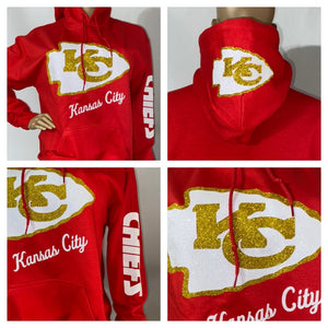 Chiefs Red Hoody Sweatshirt