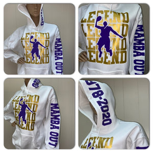 Kobe Bryant Legends Hoody Sweatshirt