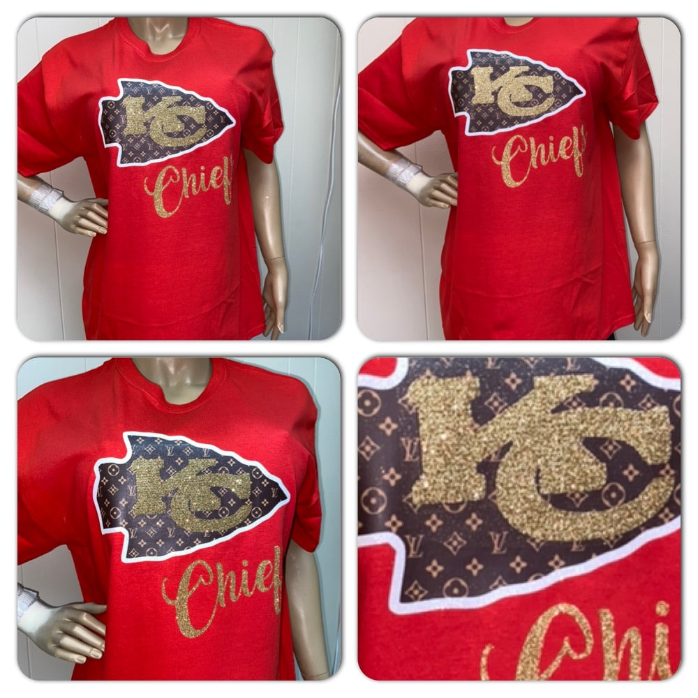 Chiefs LV Inspired Tee