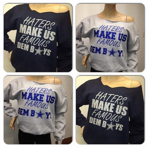 Cowboys Haters Glam Sweatshirt