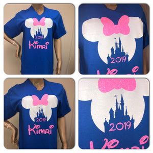 Disney Minnie Castle unisex crew neck