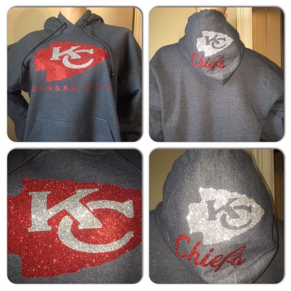 Chiefs Grey Hoody Sweatshirt