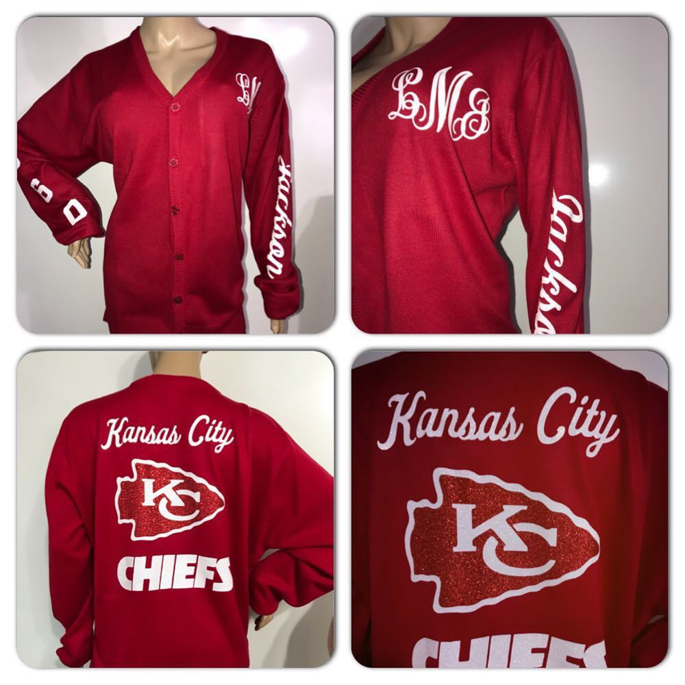 Chiefs Glam Cardigan