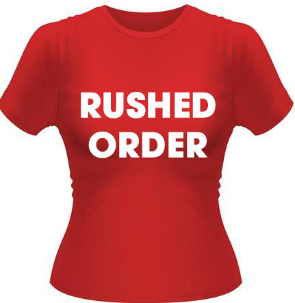 RUSH PRINT (10-14 business days)