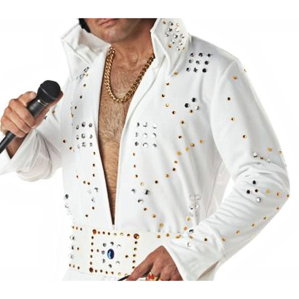Vegas Rock Legend Men's Fancy Dress Costume
