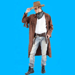 Cowboy Gunfighter Western Great Men's Fancy Dress Costume