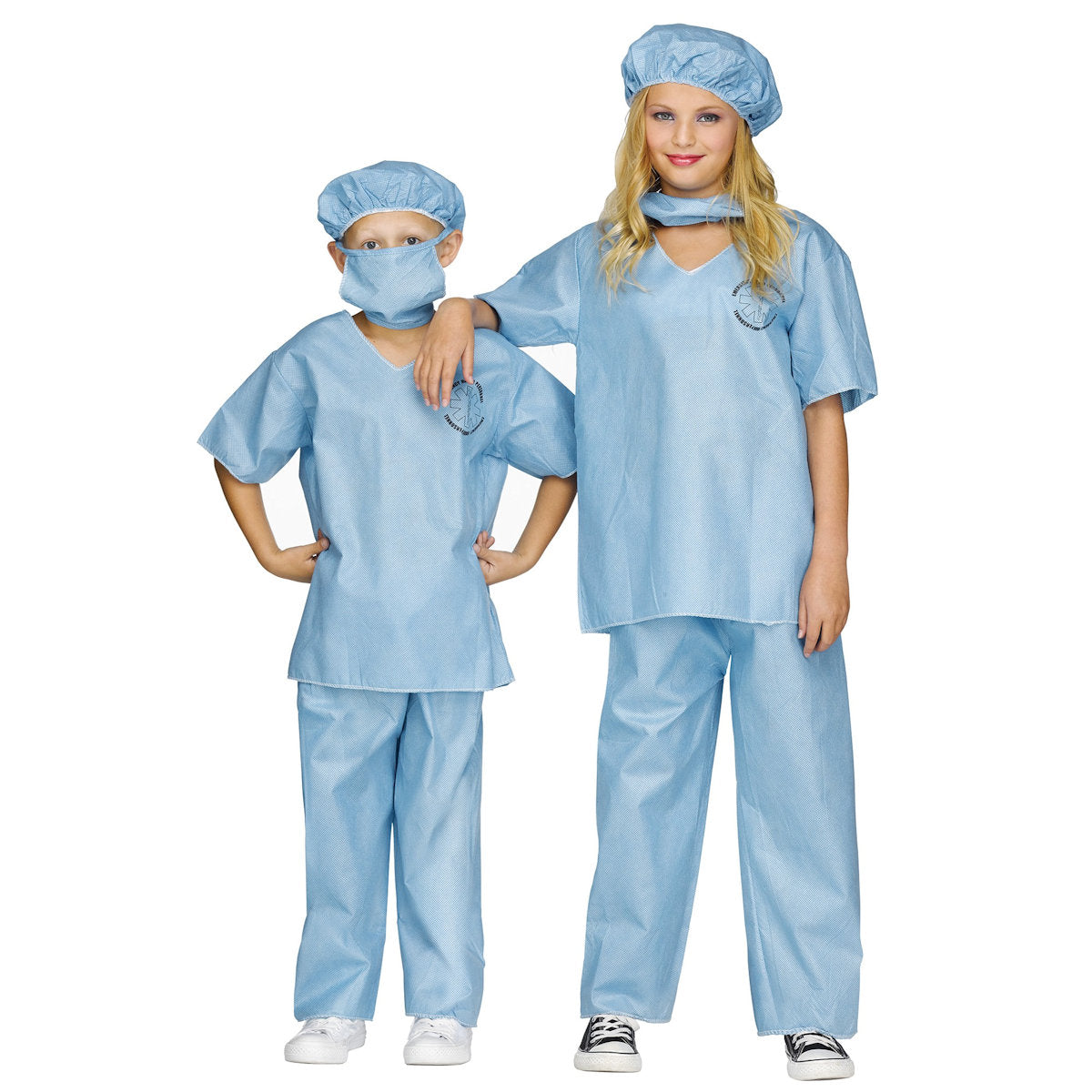 Surgeon Doctor Child Costume with cap and face mask