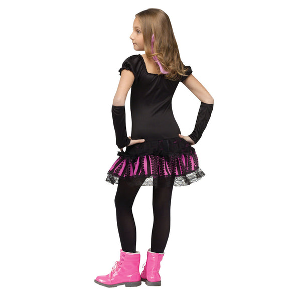 Sally Skully Girls Skelleton Halloween Fancy Dress Costume