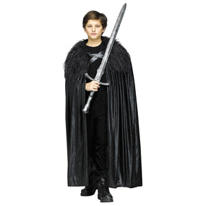 Jon Snow Game of Thrones Winter Lord Cloak Child Size